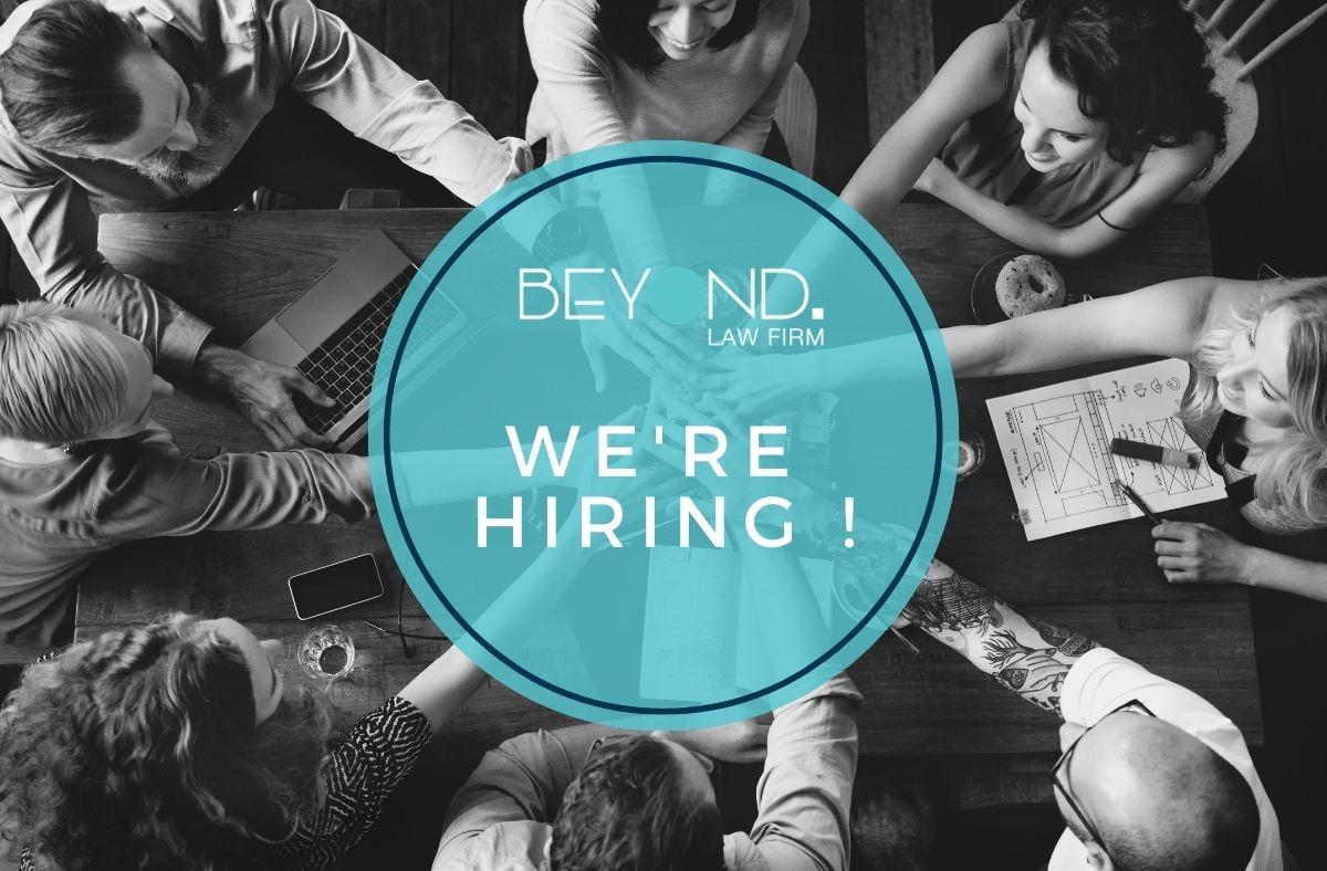 We zoeken een Junior Associate ! - Beyond Law Firm