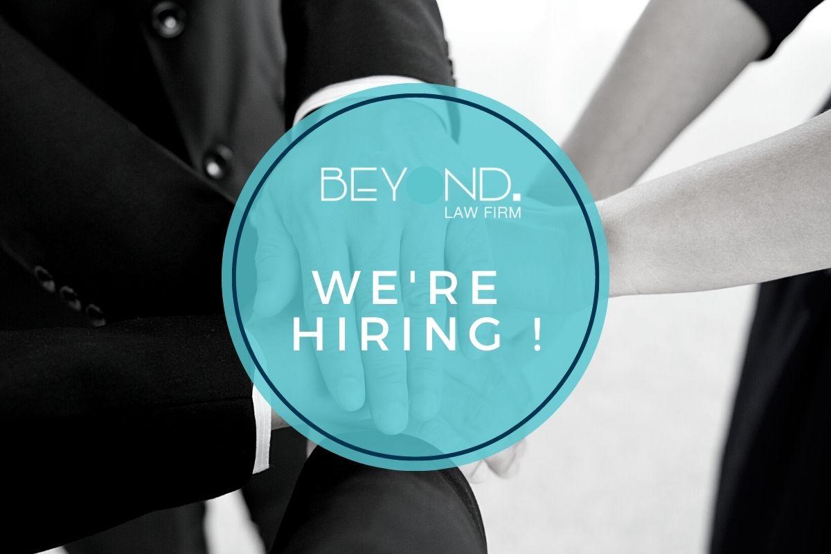 We're hiring an Experienced Associate ! - Beyond Law Firm