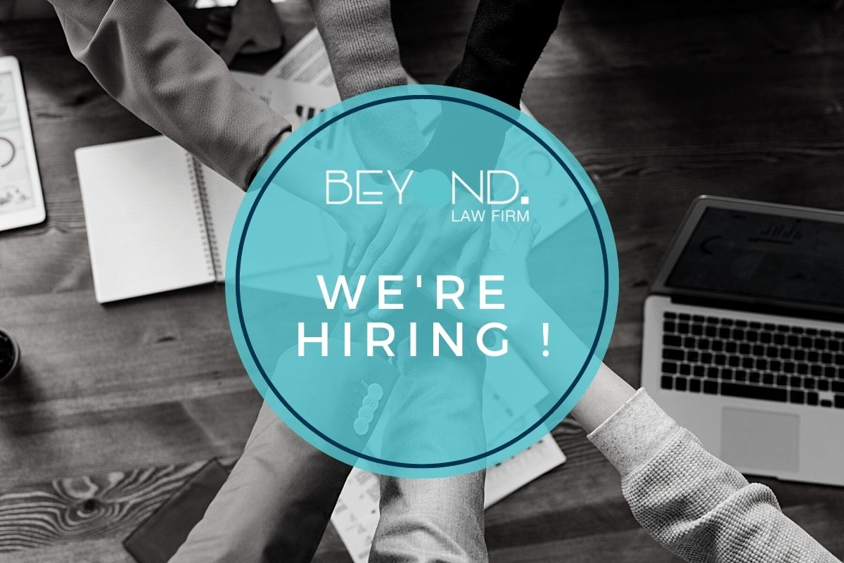 We're hiring a Junior Associate – IP/ICT  Law (2 to 4 years' experience) - Beyond Law Firm